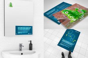 Convatec print campaign example