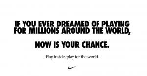 Nike ad - Create Health