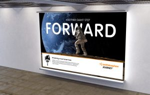 Smith and Nephew Journey campaign underground poster example