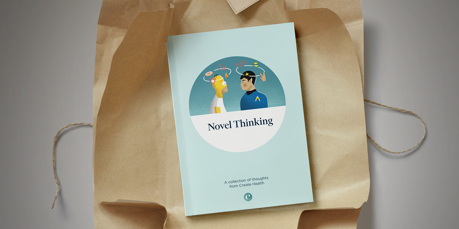 Novel thinking: inspirational springtime reads from Create Health